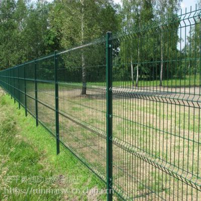 护栏用网 高铁围网 浸塑金属网片防护网片 小区围栏 公路护栏