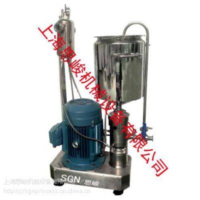 阿莫西林颗粒湿法研磨分散机