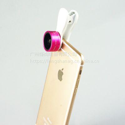 猎奇新品F-515手机特效镜头,0.36X广角+15X微距二合一手机特效镜头