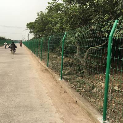 广州护栏网厂家 标段圈地围栏网 佛山绿色铁丝护栏网价格