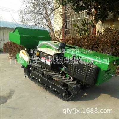 新疆葡萄园专用开沟施肥机园林菜地开沟排水机自走式旋耕机
