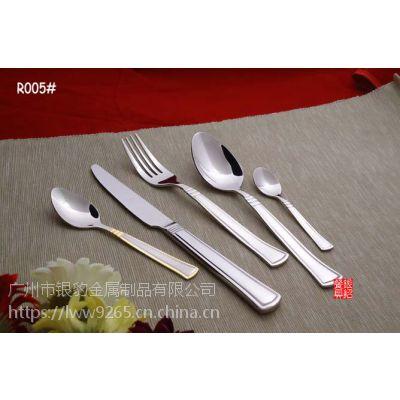 出口德国 舞者美态奢华刀叉勺三件套 西餐刀叉 不锈钢刀叉勺