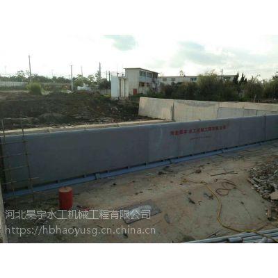 高灵敏平板钢坝闸门 河北昊宇水工 工业节水设备 厂家直销