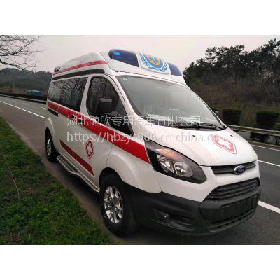 云浮救护车销售救护车厂家直销国五福特5341×2032×2407