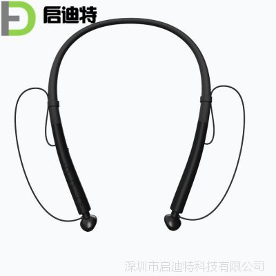 厂家直销Q14无线蓝牙耳机运动磁吸双耳耳塞式挂耳式颈挂式耳机