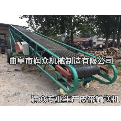普通材质输送机规格 什么材质都能做的润众输送机