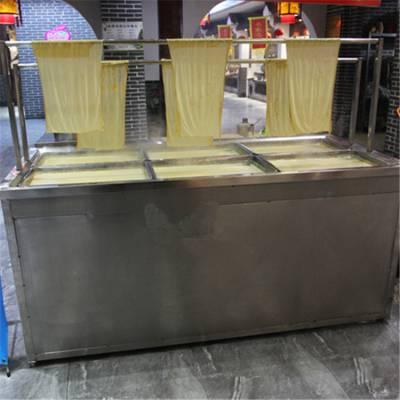 酒店专用小型豆腐皮机定做 邦腾豆制品加工设备厂家直销