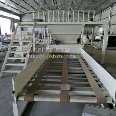 聚合物聚苯板设备匀质防火保温板生产线精锐厂家