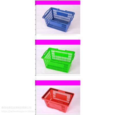 供应山东商超购物篮 ,购物车, 拉式购物车 超市货架,轻型货架