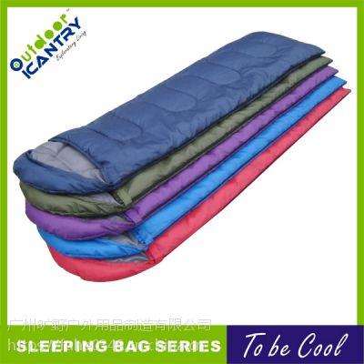 旷野户外野营 情侣左右互拼 成人 棉睡袋 中性