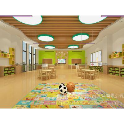 深圳宝安欧式幼儿园大厅装修设计