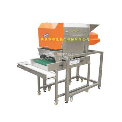 专业葡萄除梗机-转筒式除梗粒选机3吨每小时