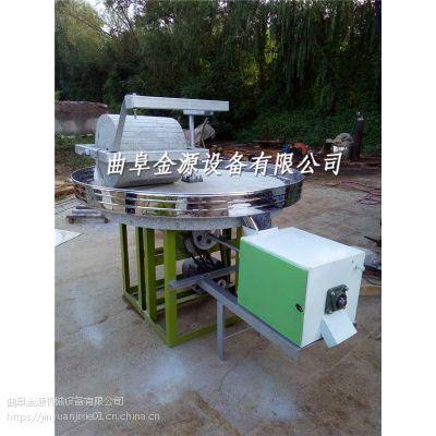 小麦面粉电动石磨机 杂粮面粉石磨机价格 金源