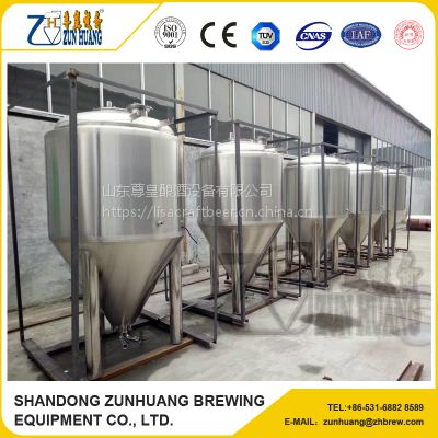 ZH-1000L 不锈钢啤酒发酵罐酿酒设备