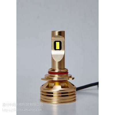 雷西特9012高亮度LED汽车灯泡:高亮、聚光、强散热、节能、无损安装