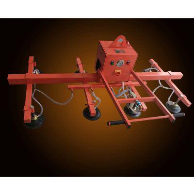 激光机充电式吸吊机吸钢板石材木板上料机真空吸盘吊具翻转机械手