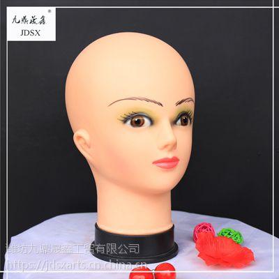 九鼎晟鑫 儿童 模特头 假发 配饰 展示道具 精品头模 厂家直销
