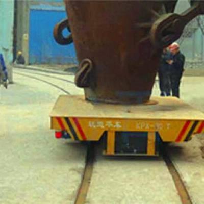 帕菲特 钢铁厂铁水包运输搬运平车定做