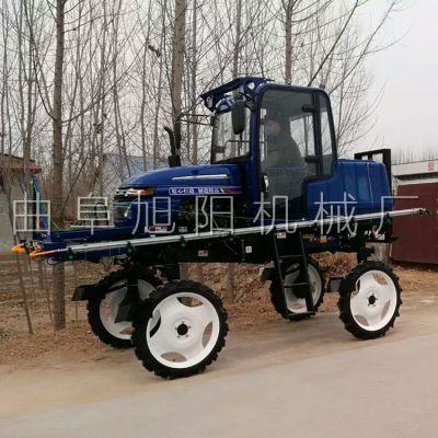 人气推荐水旱田自走式喷雾器柴油四轮打药车农用52马力水稻喷药机