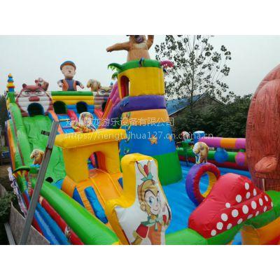 新款海盗船充气大滑梯 室外大型广场蹦蹦床 汽包娱乐蹦床造型丰富好玩
