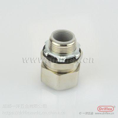 厂家直销 喷码机接头 金属软管接头 铜镀镍设备连接头