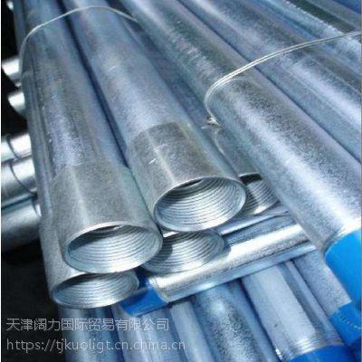 3寸Q235镀锌管//88.9x3.5友发镀锌管批发价格