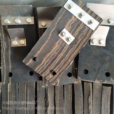 猪刮毛橡胶块价格 批发轮胎皮打毛橡胶板 屠宰用带铁片刮板