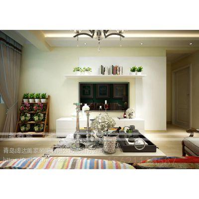 青岛阔达装修:89平的三居室经典户型,别出心裁的设计