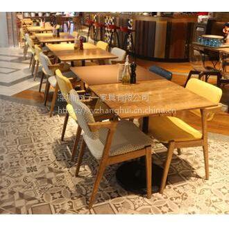 西餐厅 料理店餐桌椅 简约现代 行一家具定制