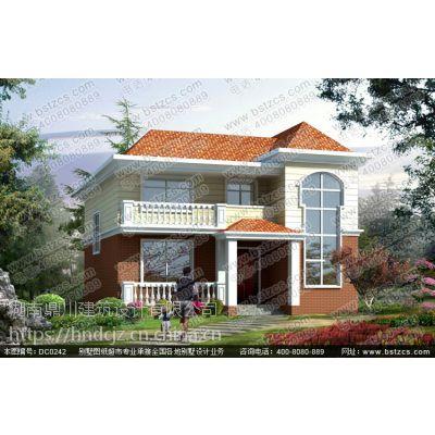 新农村二层带阳台小别墅设计效果图