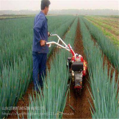 大棚草莓旋耕起垄机 大葱开沟培土机 邦腾多功能柴油大功率开沟机