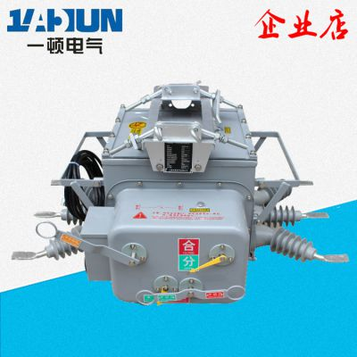 ZW20-12F/630户外高压真空断路器 六氟化硫柱上真空开关