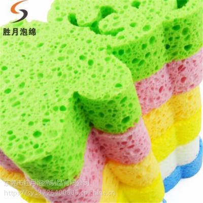 广东胜月厂家 直销粉色木浆棉 去角质卸妆木浆棉