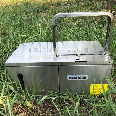 智能操作杂粮面条打捆机 韭菜捆绑机 工厂专用设备
