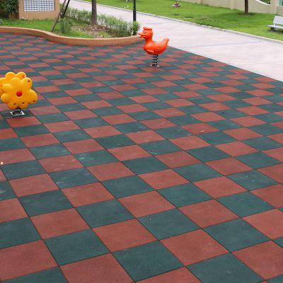 供应广东安全地垫厚度可自选 50*50m橡胶地垫价格 可免费送样品