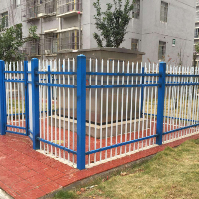 锌钢护栏多少钱一米 竖杆组装式围栏 围墙栏杆栅栏