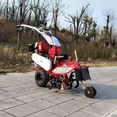 多功能的田园管理机 志成9匹农用旋耕开沟机 土豆生姜培土机