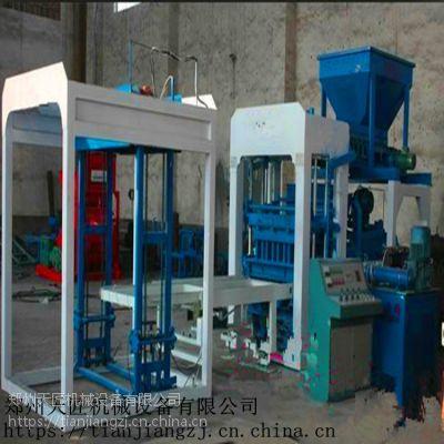 天匠 制砖机供应商 为您服务 液压 植草面包彩砖机