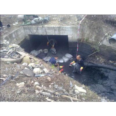 无锡惠山区堰桥镇污水池清理