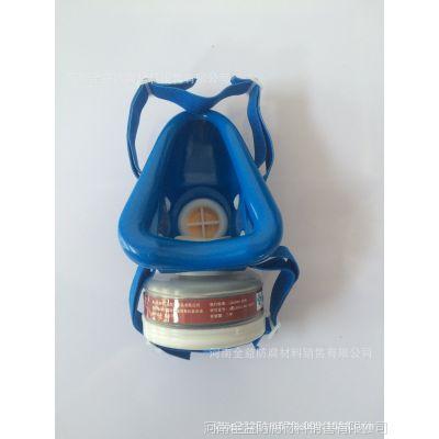 唐丰单罐防毒口罩 50个/箱 过滤毒气、粉尘、化工喷漆 活性炭单罐防毒面罩