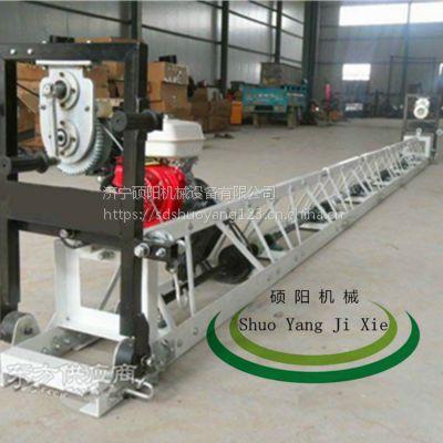 硕阳机械全钢制高速公路整平机16米框架式混凝土振动梁