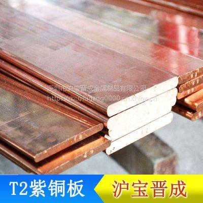 大量供应t2红铜板 佛山红铜板 材质优良