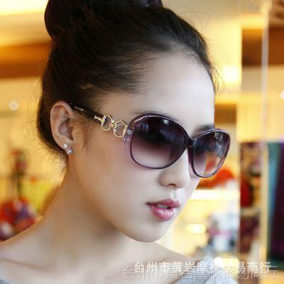 2017新款太阳镜 女士时尚大框墨镜 夏季防紫外线太阳眼镜批发