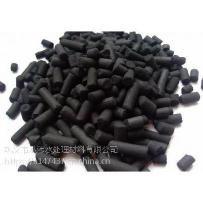 泓沛牌废气处理用柱状活性炭 柱状活性炭产品用途