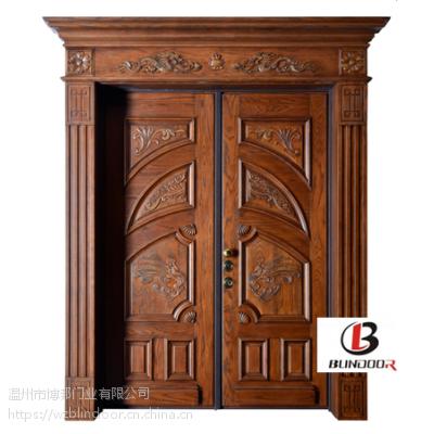 温州博邦门业 优质意式纯手工木门 中意合资装甲门