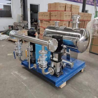 鑫溢 不锈钢多级泵无负压供水设备 静音无噪音供水设备 原理