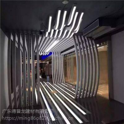 造形时尚前卫、富有艺术感的异形铝方通厂家那里有