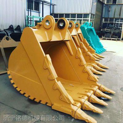 卡特326加强岩石斗 矿山斗 挖机型号加工定做