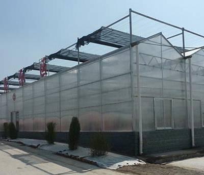 洛阳阳光板温室大棚,洛阳耐力板温室大棚