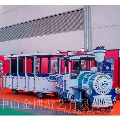 大型亲子乐园游乐设施仿古小火车【金博】